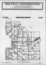 Map Image 010, Mahaska County 1987